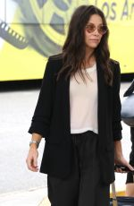 EVANGELINE LILLY at LAX Airport in Los Angeles 06/22/2018