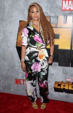 FAITH EVANS at Luke Cage Series Premiere in New York 06/21/2018