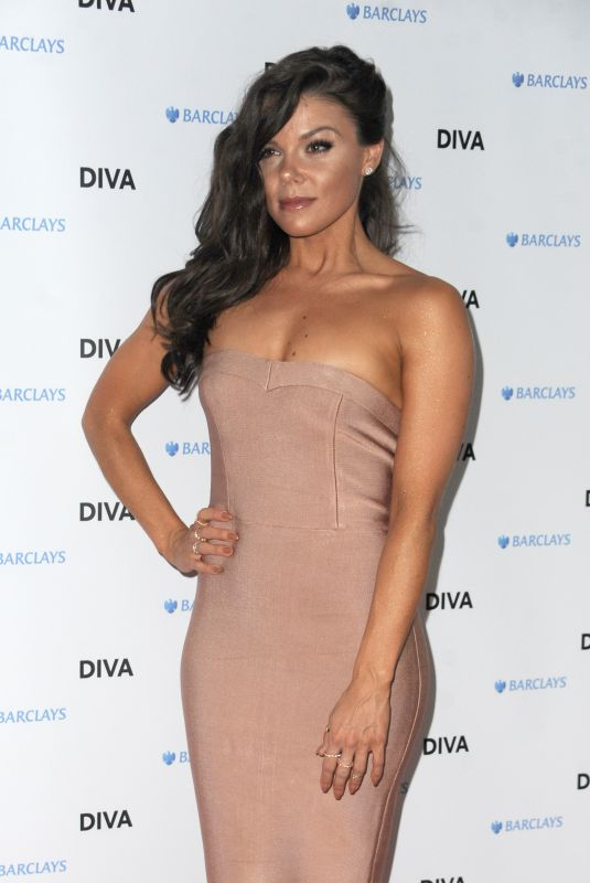 FAYE BROOKES at Diva Magazine Awards in London 06/08/2018