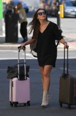 FAYE BROOKES Leavines Her Hotel in Manchester 06/24/2018