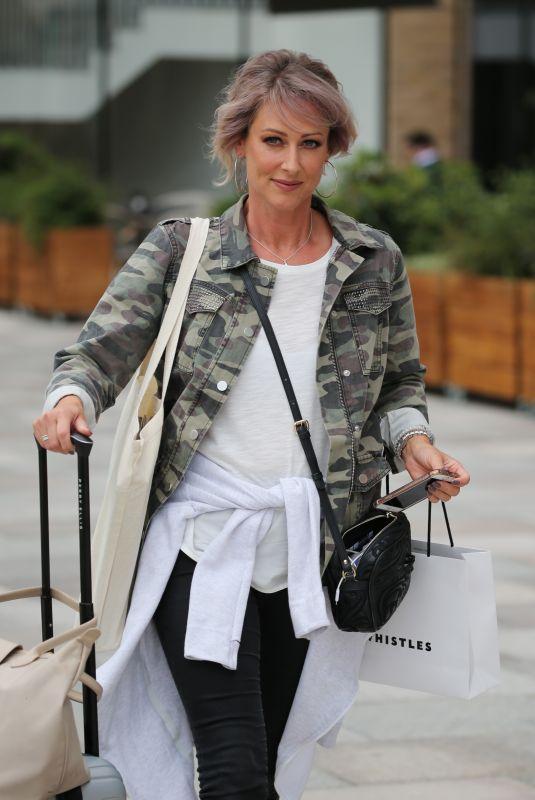FAYE TOZER Leaves ITV Studios in London 06/07/2018