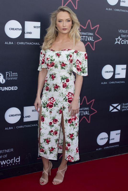 FELICITY GILBERT at Lucid Premiere at 72nd Edinburgh International Film Festival 06/23/2018