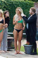 FERNE MCCANN and DANIELLE ARMSTRON in Bikinis in Spain 06/27/2018