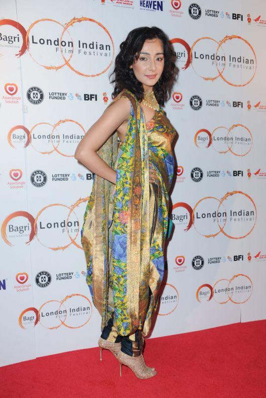 FERYNA WAZHEIR at Love Sonia Premiere at London Indian Film Festival 06/21/2018