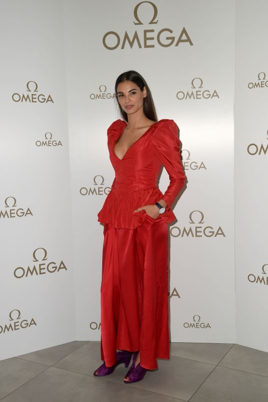 FRANCESCA CHILLEMI at New Omega Tresor Collection Presentation in Milan 06/27/2018