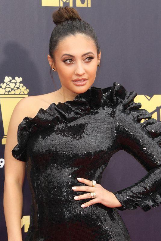 FRANCIA RAISA at 2018 MTV Movie and TV Awards in Santa Monica 06/16/2018