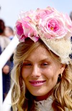 FRANKIE GAFF at Investec Derby Festival Ladies Day at Epsom Racecourse 06/01/2018