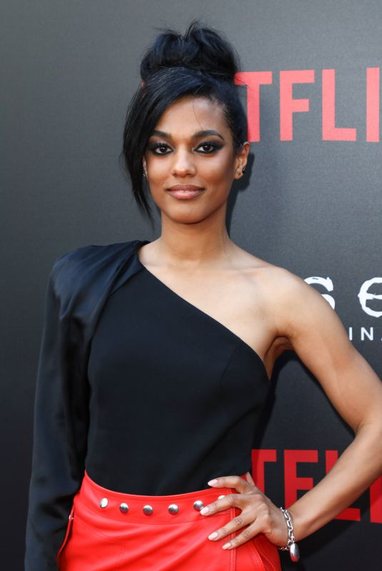 FREEMA AGYEMAN at Sense8 Season 2 Finale Screening i Los Angeles 06/07/2018