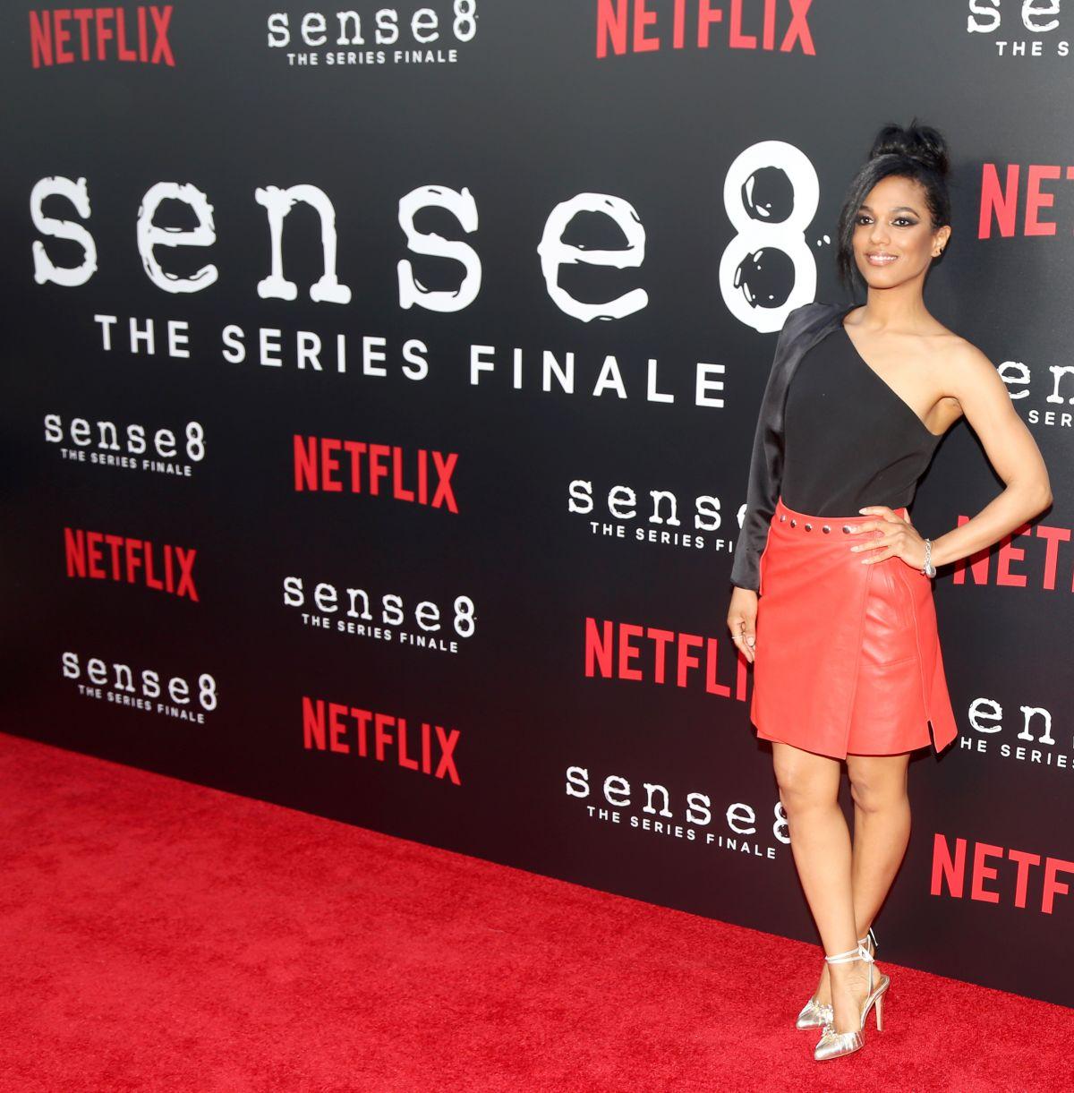 FREEMA AGYEMAN at Sense8 Season 2 Finale Screening i Los Angeles 06