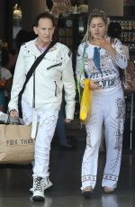 GABI GRECKO and Geoffrey Edelsten Shopping at Melrose Place in West Hollywood 06/19/2018