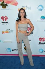 GABRIELA LOPEZ at Iheartradio Wango Tango by AT&T in Los Angeles 06/02/2018