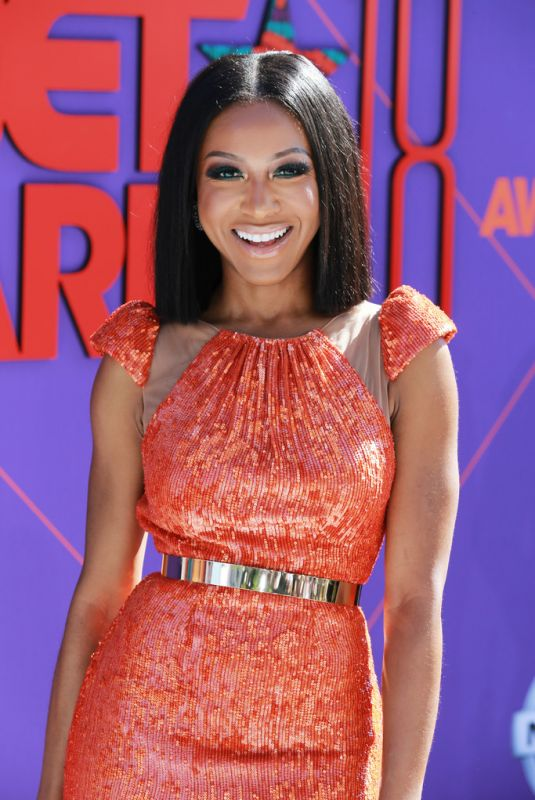 GABRIELLE DENNIS at BET Awards in Los Angeles 06/24/2018