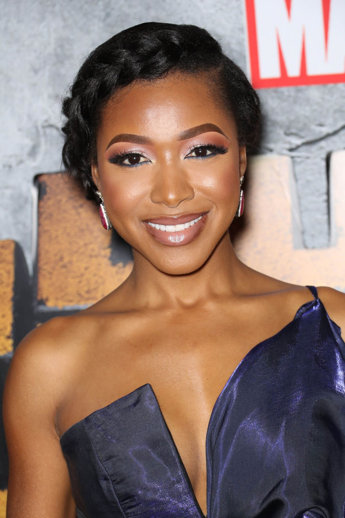 Watch Gabrielle dennis at the premiere of the bobby brown story in hollywood video