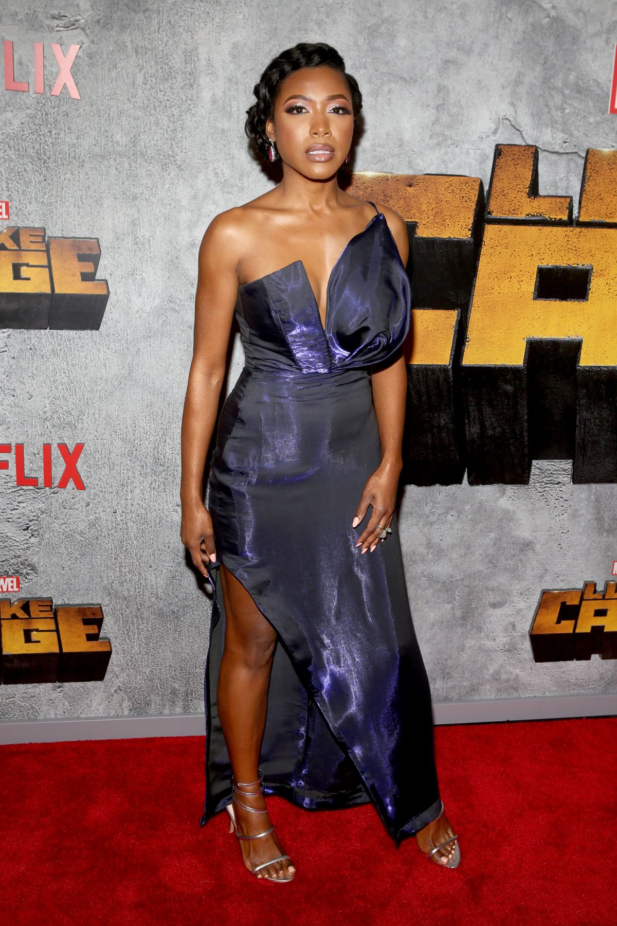 Gabrielle dennis at the premiere of the bobby brown story in hollywood nudes (49 photos), Boobs Celebrity picture