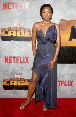 GABRIELLE DENNIS at Luke Cage Series Premiere in New York 06/21/2018