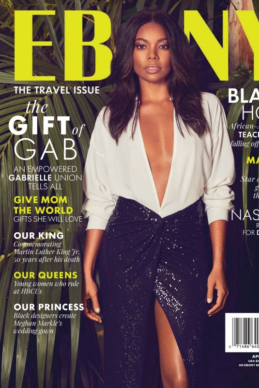 GABRIELLE UNION in Ebony Magazine, May/June 2018 Issue