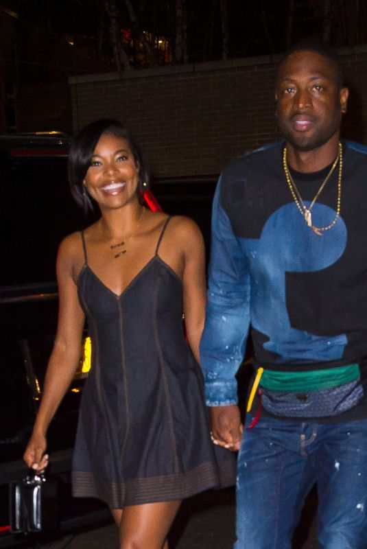 GABRIELLE UNION Night Out in New York 06/21/2018