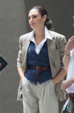 GAL GADOT on the Set of Wonder Woman 2 in Alexandria 06/13/2018