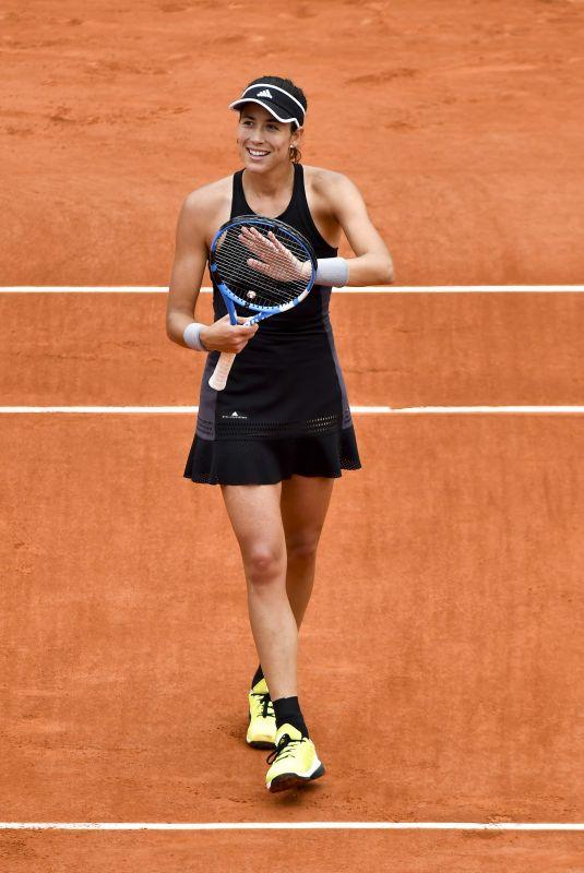 GARBINE MUGURUZA at French Open Tennis Tournament in Paris 06/06//2018