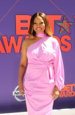 GARCELLE BEAUVAIS at BET Awards in Los Angeles 06/24/2018