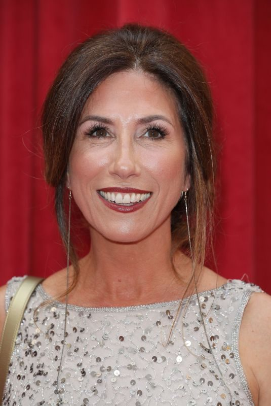 GAYNOR FAYE at British Soap Awards 2018 in London 06/02/2018