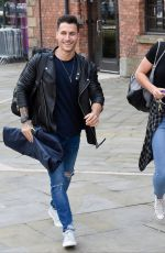 GEMMA ATKINSON and Gorka Marquez Out in Manchester 06/05/2018