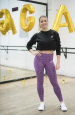 GEMMA ATKINSON at Danceworks Studios in London 06/05/2018