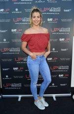 GEMMA ATKINSON at U.P. Cheshire Gym Launch in Alderley 06/27/2018