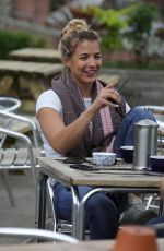 GEMMA ATKINSON Out and About in Manchester 06/04/2018