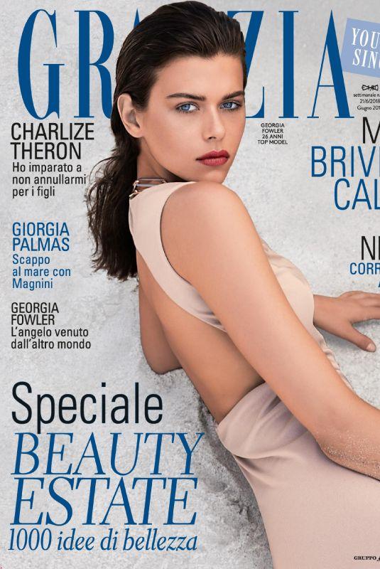 GEORGIA FOWLER in Grazia Magazine, June 2018