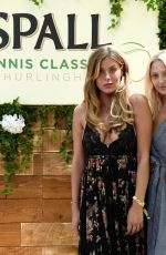 GEORGIA HURST and FRANKIE GAFF at Hurlingham Tennis Classic 06/28/2018