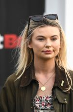 GEORGIA TOFFOLO at Goodwood Races in West Sussex 06/15/2018