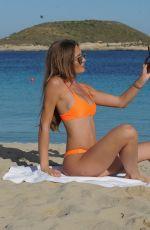 GEORGIE CLARKE in Bikini at a Beach in Ibiza 06/13/2018