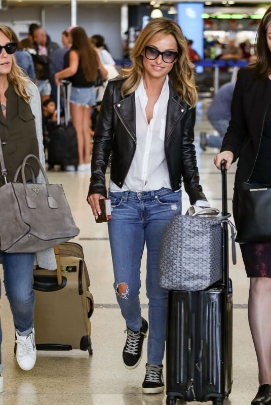 GIADA DE LAURENTIIS at LAX Airport in Los Angeles 06/22/2018