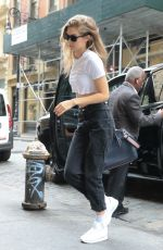 GIGI HADID Arrives at Her Apartment in New York 06/27/2018