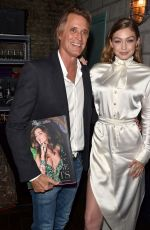 GIGI HADID at Backstage Secrets: A Decade Behind the Scenes at Victoria's Secret Fashion Show Book Launch in New York 05/31/2018