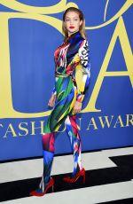 GIGI HADID at CFDA Fashion Awards in New York 06/05/2018