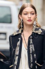 GIGI HADID on the Set of a Photoshoot in New York 05/31/2018