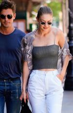 GIGI HADID Out and About in New York 06/17/2018