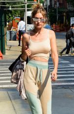 GIGI HADID Out in New York 06/18/2018