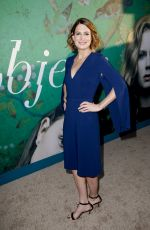 GILLIAN FLYNN at Sharp Objects Premiere in Los Angeles 06/26/2018