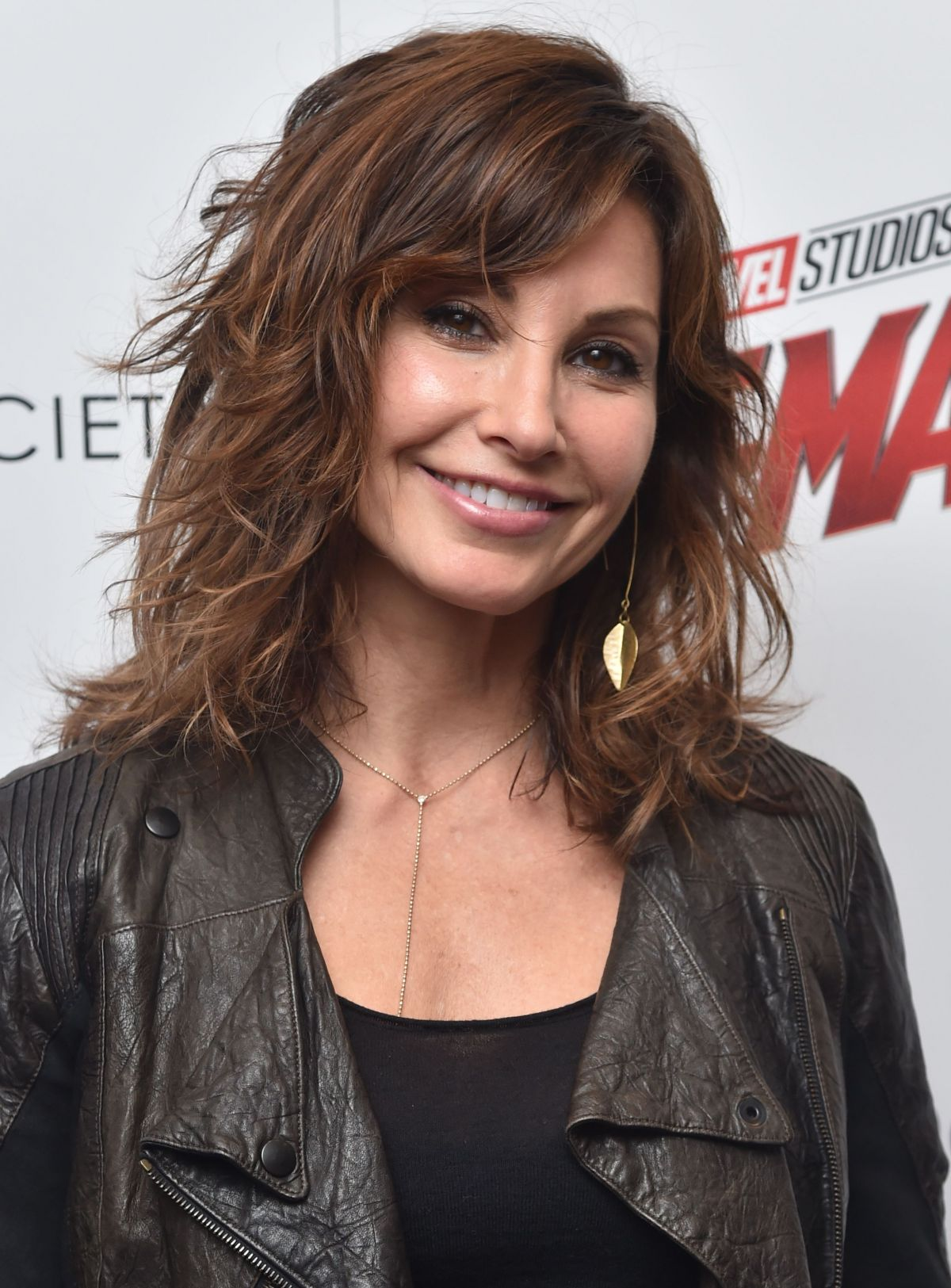 GINA GERSHON at Ant-man and the Wasp Premiere in New York ...
