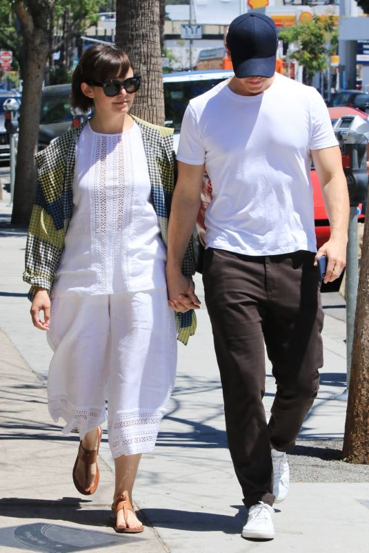 GINNIFER GOODWIN and Josh Dallas Out in Los Angeles 06/27/2018