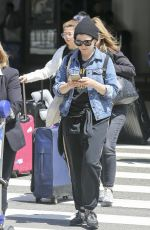 GINNIFER GOODWIN at LAX Airport in Los Angeles 06/09/2018