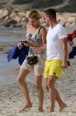 GIULIA SIEGEL at a Beach in Formentera 06/04/2018