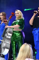 GRACE CHATTO Performs at Capital Radio Summertime Ball 2018 in London 06/09/2018