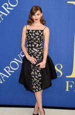 GRACE ELIZABETH at CFDA Fashion Awards in New York 06/05/2018
