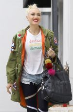 GWEN STEFANI Out and About in Studio City 06/16/2018