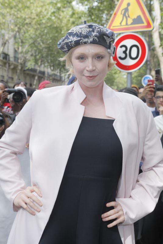 GWENDOLINE CHRISTIE at Dior Homme Spring/Summer Fashion Show in Paris 06/23/2018