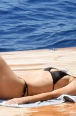 GWYNETH PALTROW in Bikini at a Yacht in Capri 06/23/2018